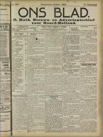 Ons Blad : katholiek nieuwsblad voor N-H 1913-11-06