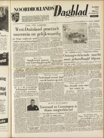 Noordhollands Dagblad : dagblad voor Alkmaar en omgeving 1954-10-21