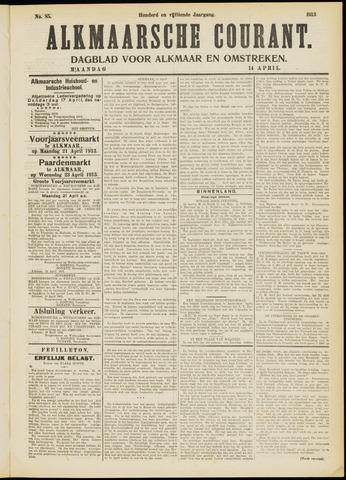 Alkmaarsche Courant 1913-04-14