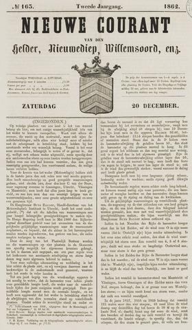 Nieuwe Courant van Den Helder 1862-12-20