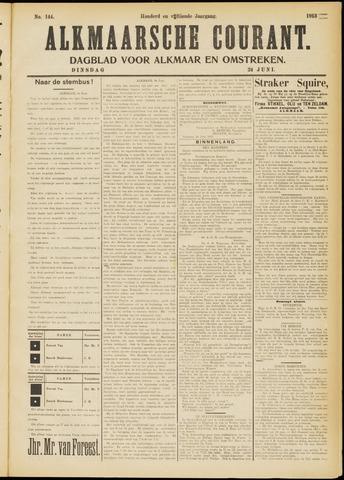Alkmaarsche Courant 1913-06-24