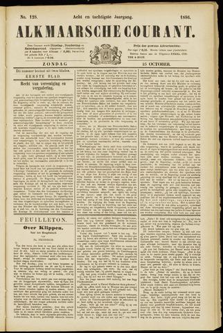 Alkmaarsche Courant 1886-10-24