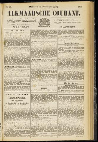 Alkmaarsche Courant 1900-08-15