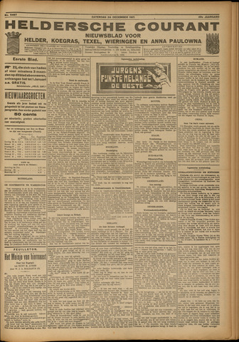 Heldersche Courant 1921-12-24