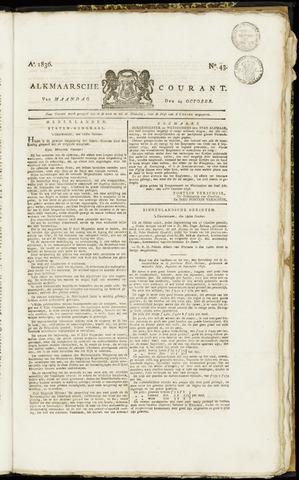 Alkmaarsche Courant 1836-10-24