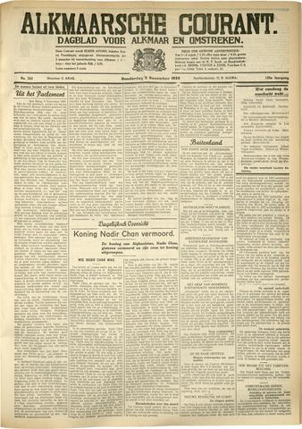 Alkmaarsche Courant 1933-11-09