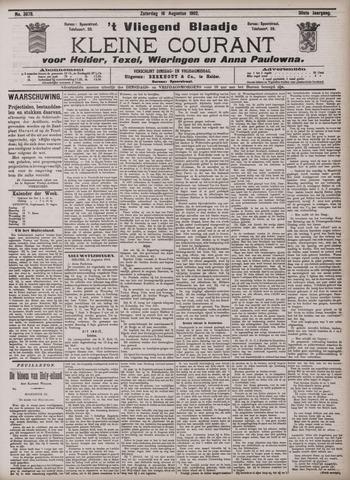 Vliegend blaadje : nieuws- en advertentiebode voor Den Helder 1902-08-16