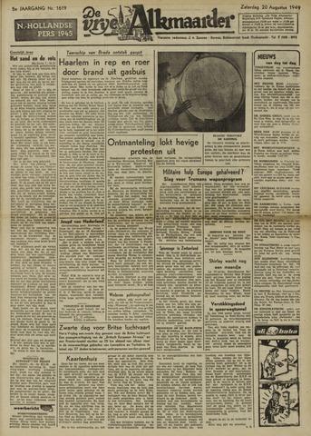 De Vrije Alkmaarder 1949-08-20