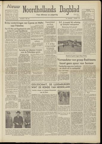 Nieuw Noordhollandsch Dagblad : voor Alkmaar en omgeving 1948-05-03