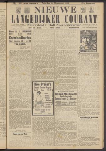 Nieuwe Langedijker Courant 1928-11-24