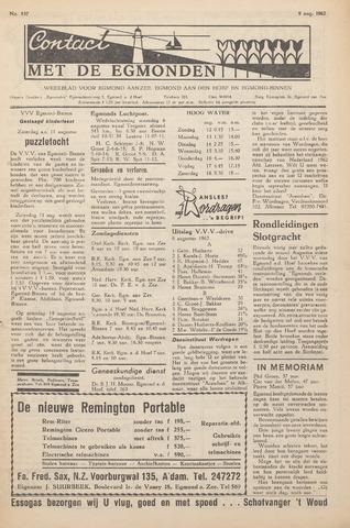 Contact met de Egmonden 1962-08-09