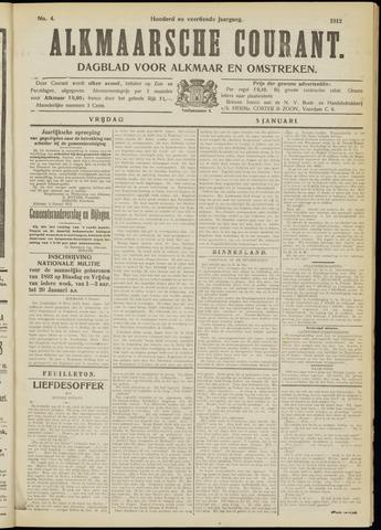 Alkmaarsche Courant 1912-01-05