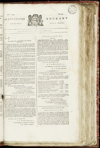Alkmaarsche Courant 1819-08-23