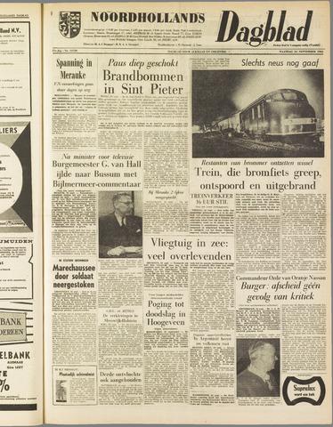 Noordhollands Dagblad : dagblad voor Alkmaar en omgeving 1962-09-24