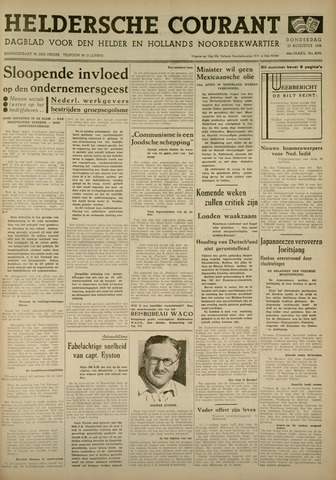 Heldersche Courant 1938-08-25