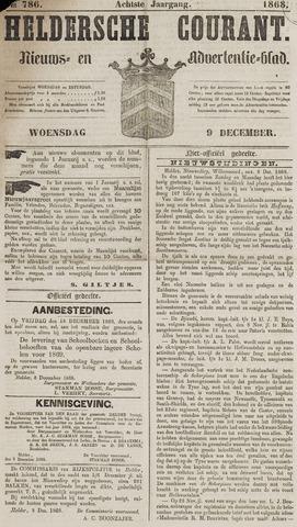 Heldersche Courant 1868-12-09