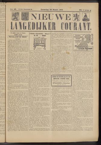 Nieuwe Langedijker Courant 1924-03-29
