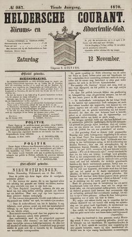 Heldersche Courant 1870-11-12