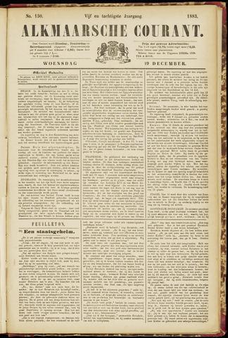 Alkmaarsche Courant 1883-12-19