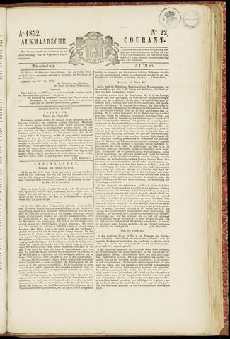 Alkmaarsche Courant 1852-05-31