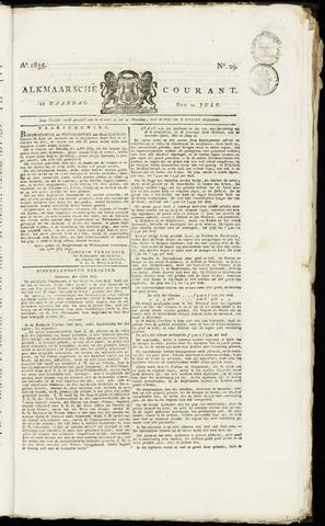 Alkmaarsche Courant 1835-07-20
