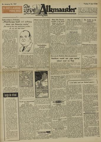 De Vrije Alkmaarder 1948-04-09
