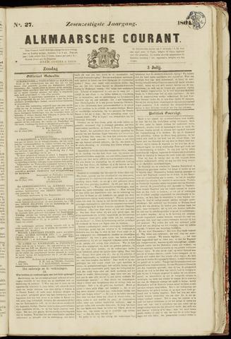 Alkmaarsche Courant 1864-07-03