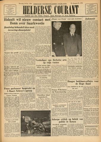 Heldersche Courant 1954-02-25