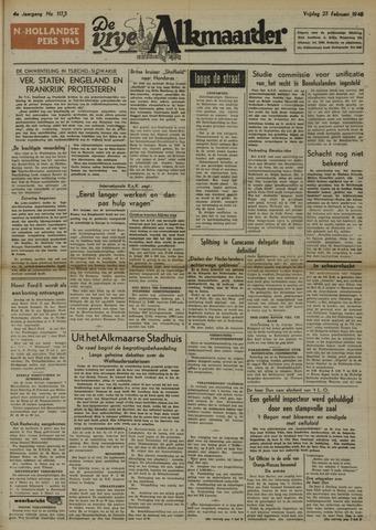 De Vrije Alkmaarder 1948-02-27