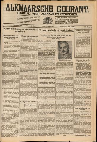 Alkmaarsche Courant 1939-03-24