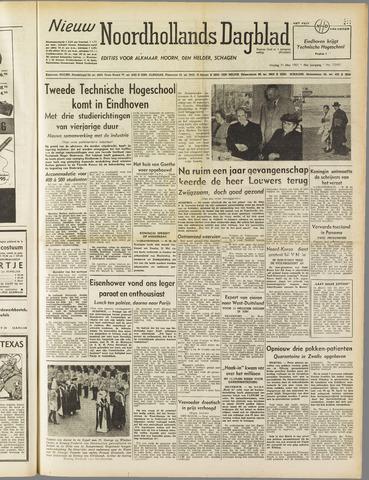 Nieuw Noordhollandsch Dagblad : voor Alkmaar en omgeving 1951-05-11