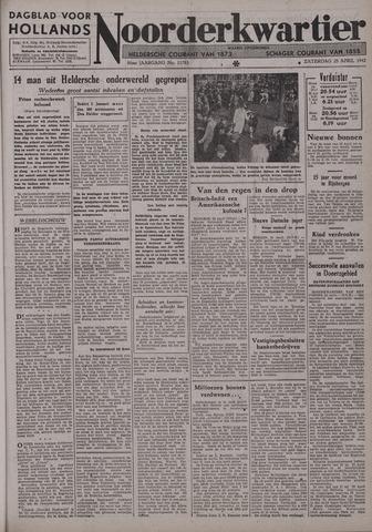 Dagblad voor Hollands Noorderkwartier 1942-04-25