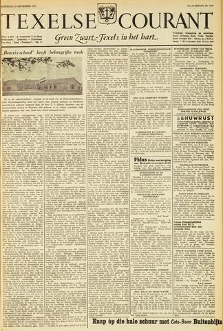 Texelsche Courant 1957-09-28