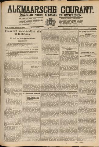 Alkmaarsche Courant 1939-02-04