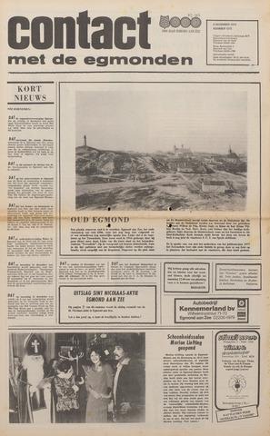 Contact met de Egmonden 1976-12-08