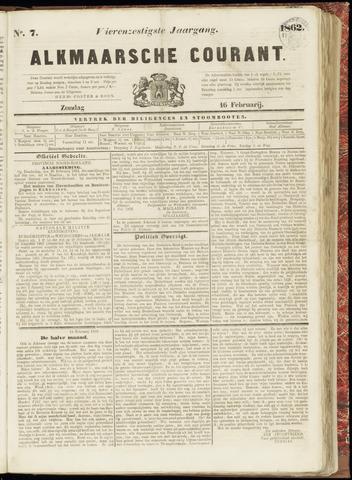 Alkmaarsche Courant 1862-02-16
