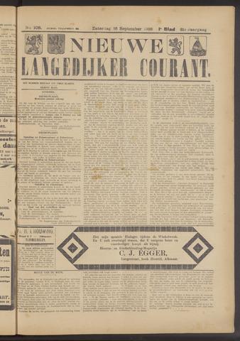 Nieuwe Langedijker Courant 1922-09-16