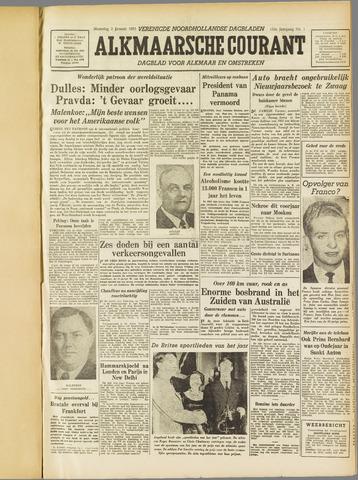 Alkmaarsche Courant 1955-01-03