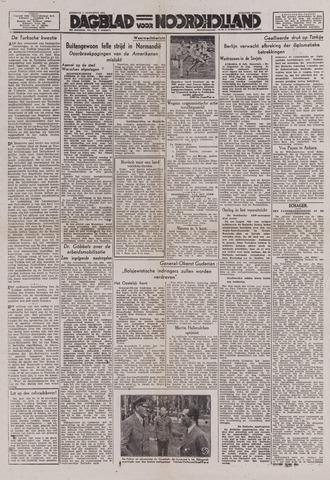 Dagblad Noord-Holland, Schager editie 1944-08-01