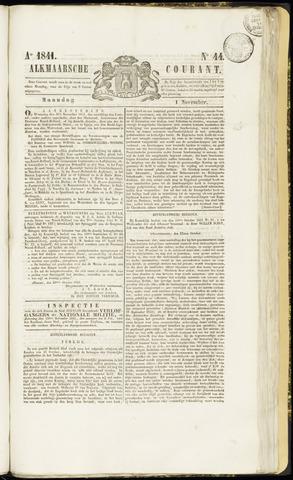 Alkmaarsche Courant 1841-11-01