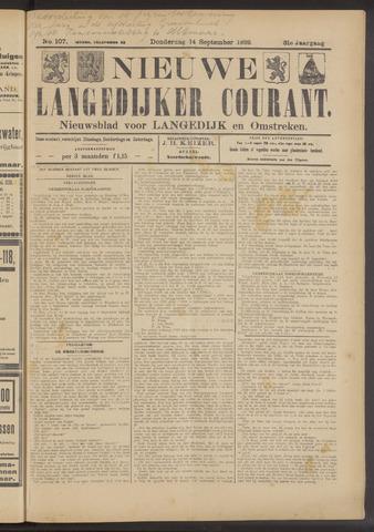Nieuwe Langedijker Courant 1922-09-14