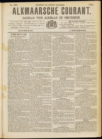 Alkmaarsche Courant 1906-12-01