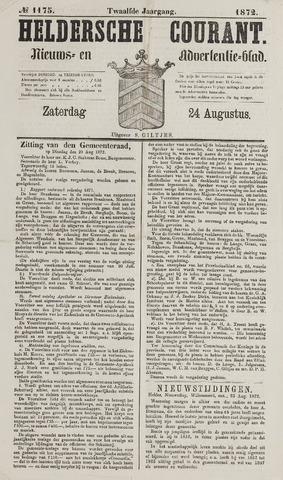 Heldersche Courant 1872-08-24