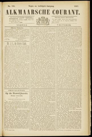 Alkmaarsche Courant 1887-10-07