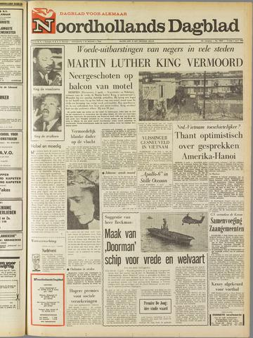 Noordhollands Dagblad : dagblad voor Alkmaar en omgeving 1968-04-05