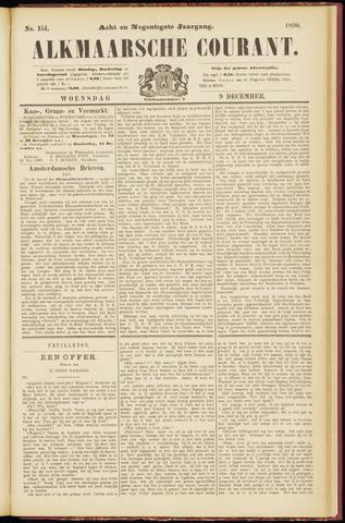 Alkmaarsche Courant 1896-12-09