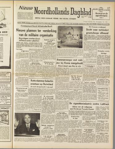 Nieuw Noordhollandsch Dagblad : voor Alkmaar en omgeving 1950-09-05