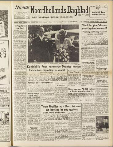 Nieuw Noordhollandsch Dagblad : voor Alkmaar en omgeving 1950-06-02