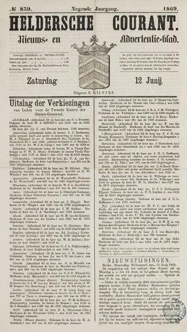 Heldersche Courant 1869-06-12