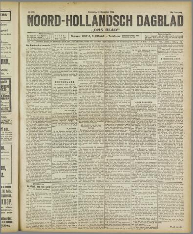 Ons Blad : katholiek nieuwsblad voor N-H 1922-11-09
